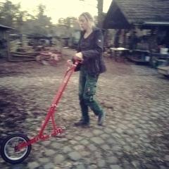 Annes neue Radhacke!